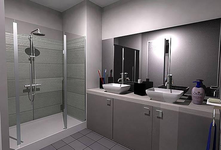 Bedroom Designs: modern Bathroom by I Nova Infra