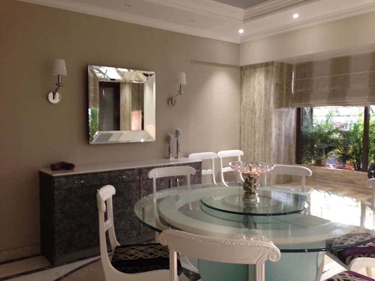 Interior Designs:  Dining room by The design house,Modern