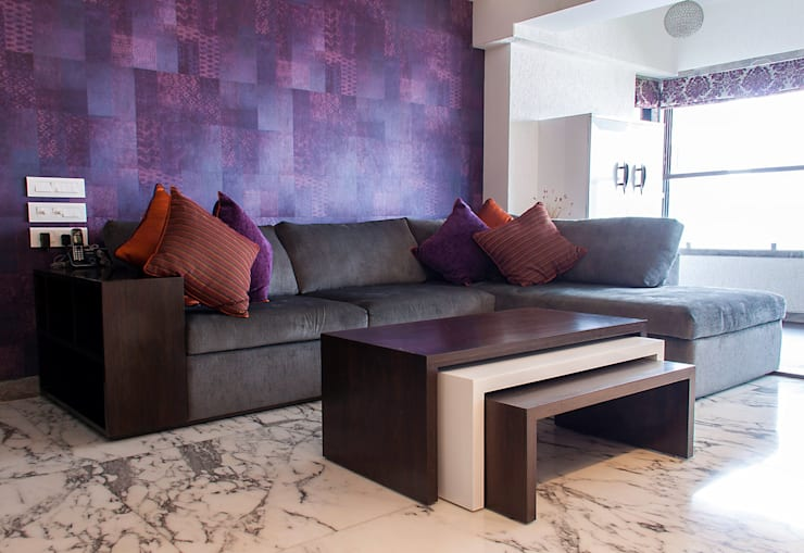 Interior Designs: modern Living room by The design house