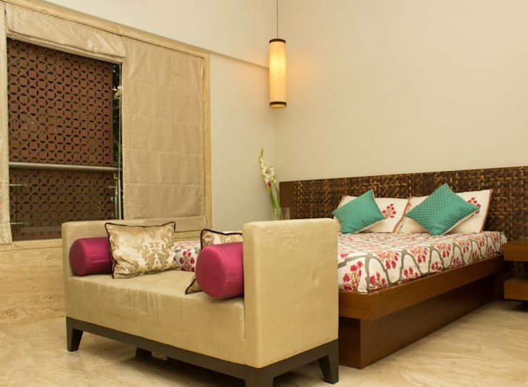 Interior Designs:  Bedroom by The design house,Modern