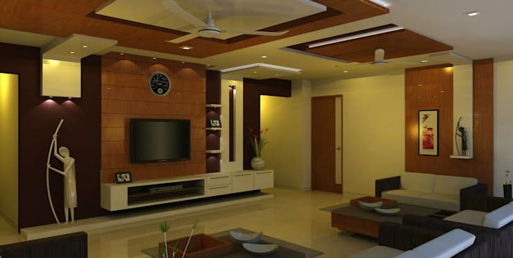 Interior designs: modern Living room by Optimystic Designs