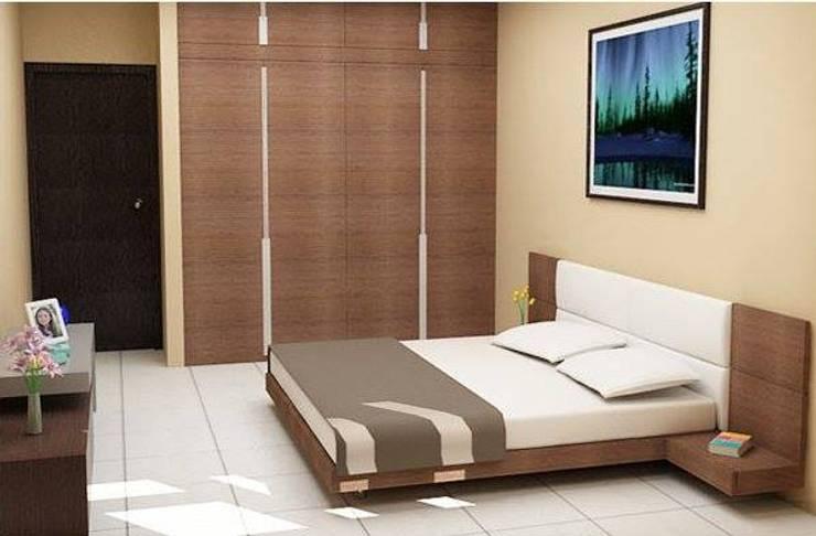 Interior designs:  Bedroom by Optimystic Designs