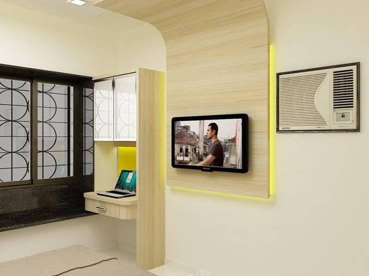 Interior designs:  Living room by Optimystic Designs