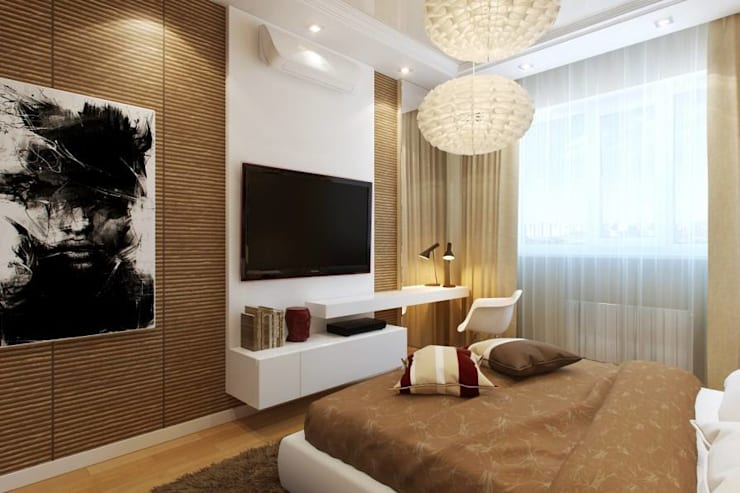 Interior designs:  Bedroom by Optimystic Designs