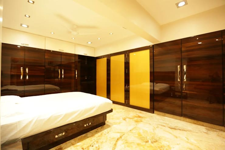 Interior Designs:  Bedroom by Ornate Consultants