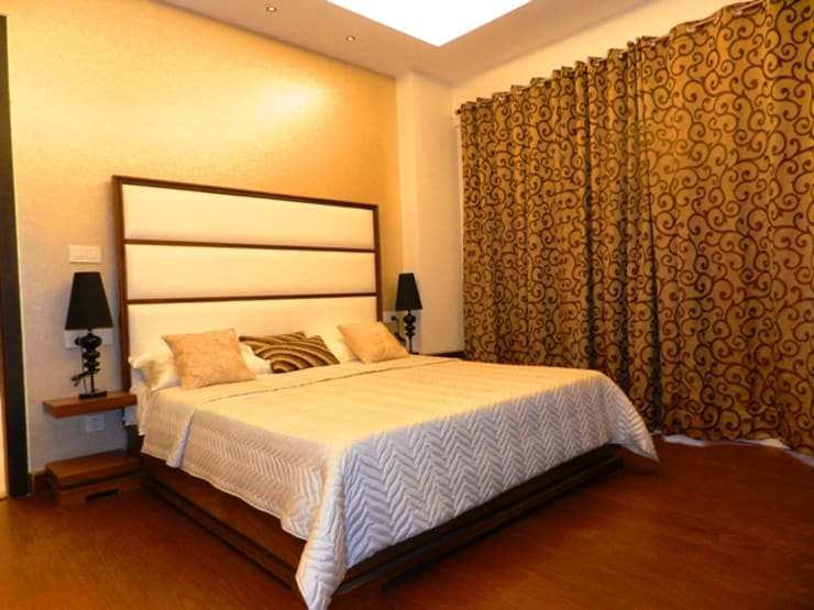 Interior designs:  Bedroom by Allied Interiors