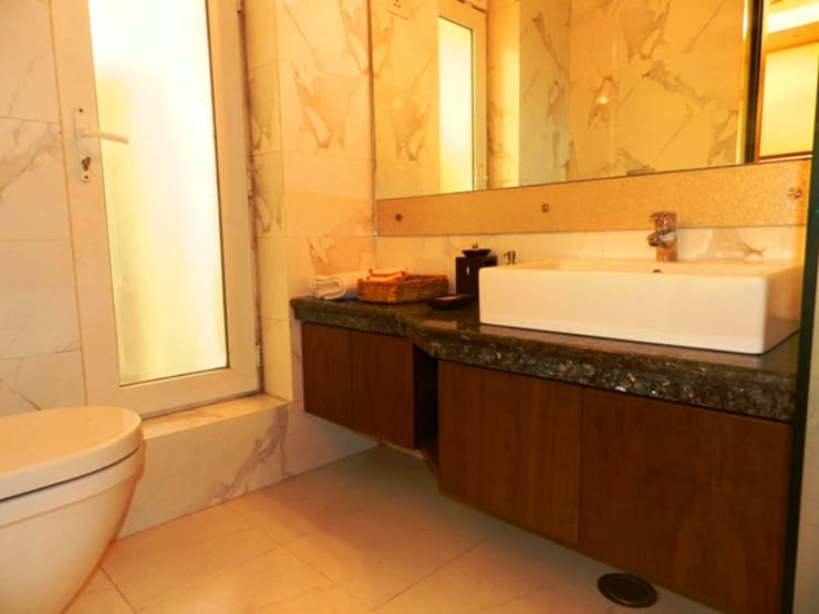 Interior designs:  Bathroom by Allied Interiors