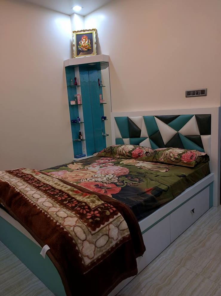 Moderne Schlafzimmer von Allied Interiors Modern