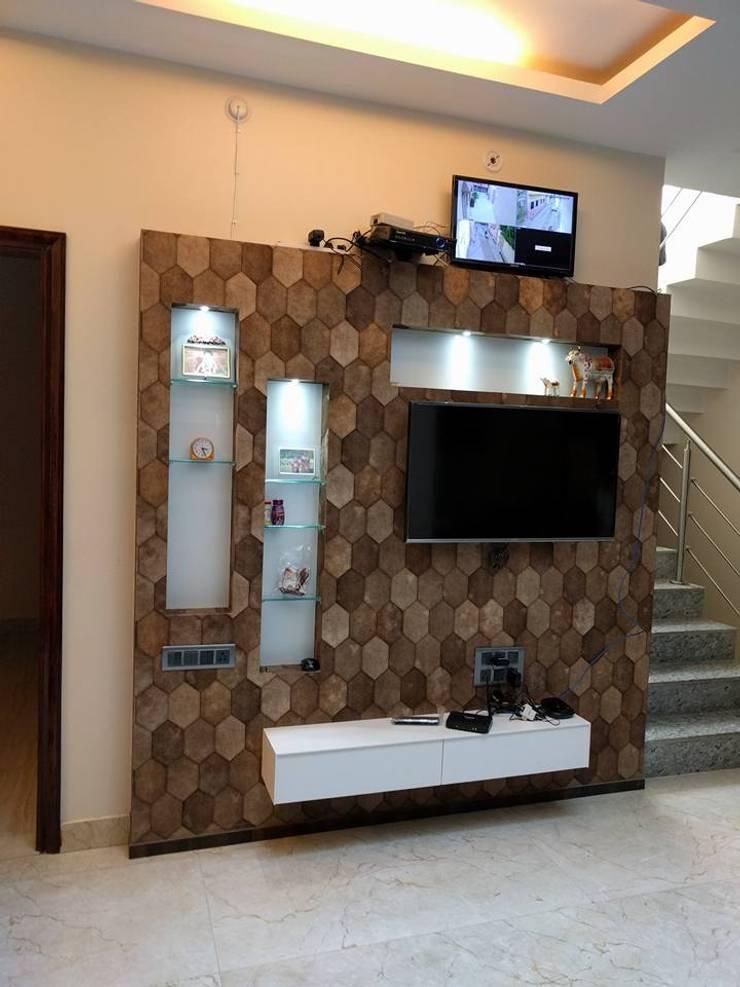 Moderne Wohnzimmer von Allied Interiors Modern