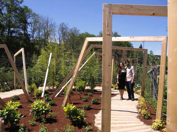 Jardines de estilo  por Aida Lopez Paisajista