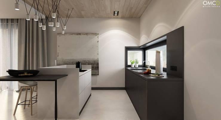 N.M. House: styl , w kategorii Kuchnia zaprojektowany przez OMCD Architects