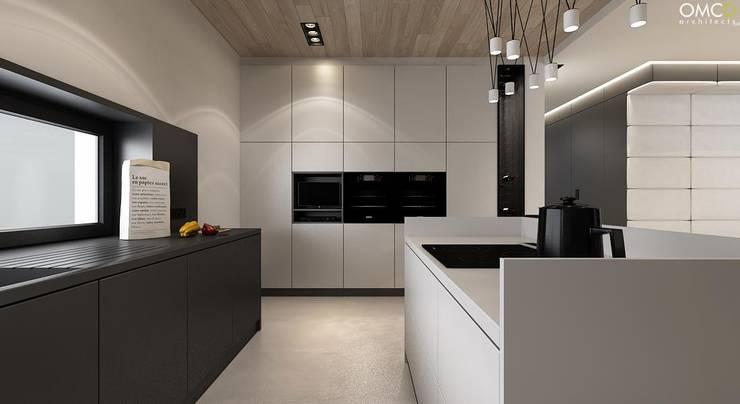 N.M. House: styl , w kategorii Kuchnia zaprojektowany przez OMCD Architects,Minimalistyczny