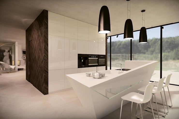Küche von OMCD Architects
