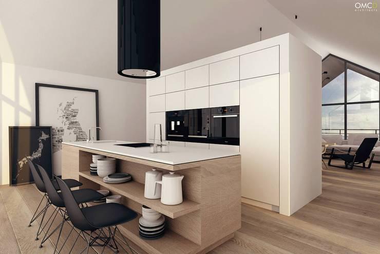 Single Family House: styl , w kategorii Kuchnia zaprojektowany przez OMCD Architects