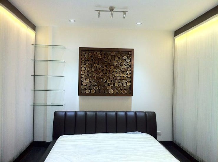 Interior Designs: modern Bedroom by The Silversea