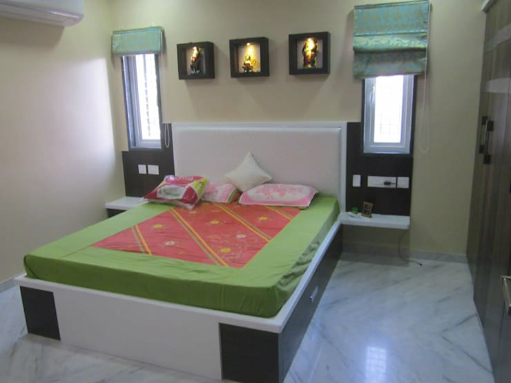 Residence Projects: modern Bedroom by Nabh Design & Associates