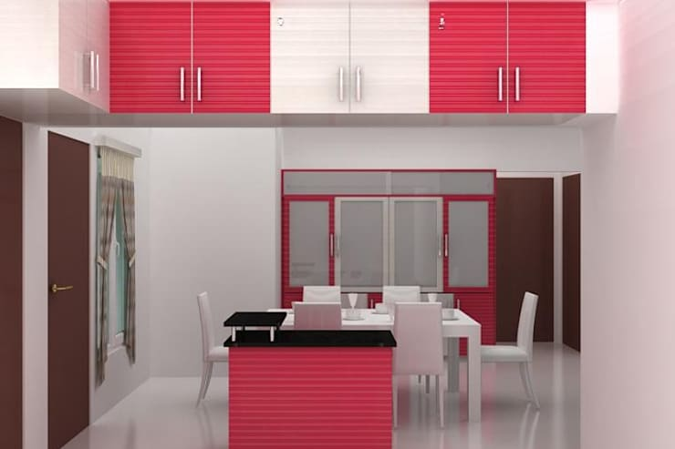 Kitchen designs:  Kitchen by Splendid Interior & Designers Pvt.Ltd