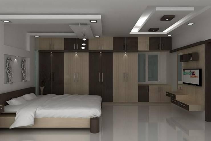 Bedroom by Splendid Interior & Designers Pvt.Ltd