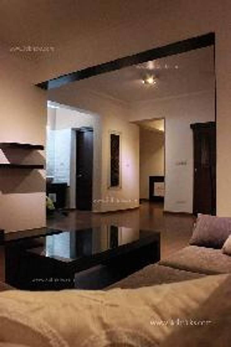 Villa Project:  Living room by 3DBricks
