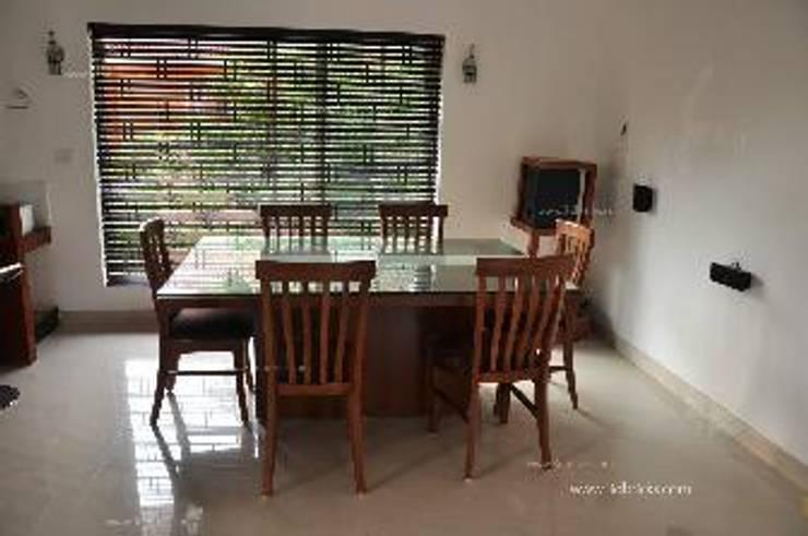 Villa Project:  Dining room by 3DBricks