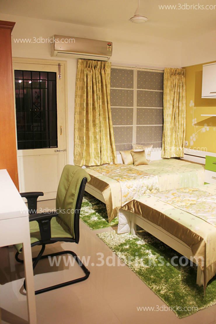 Interiors:  Bedroom by 3DBricks
