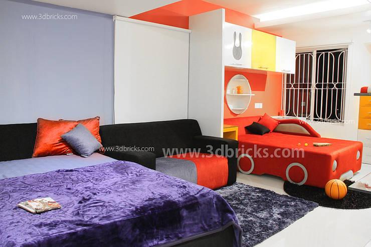 Interiors:  Nursery/kid's room by 3DBricks