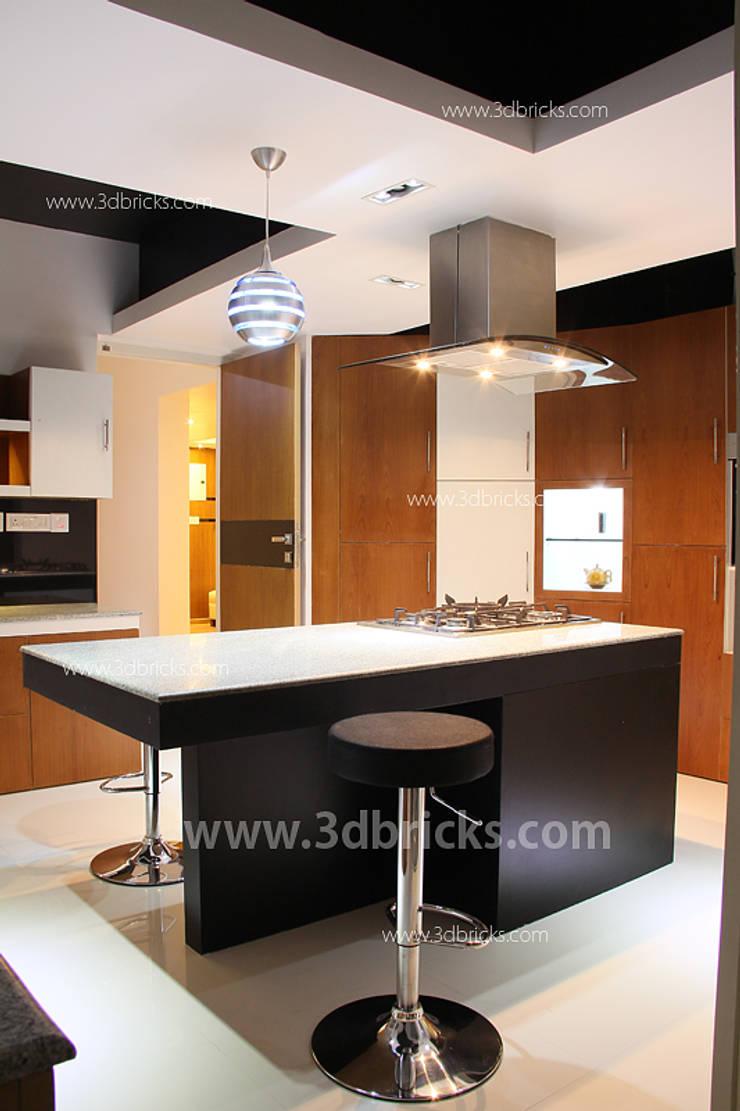 Interiors:  Kitchen by 3DBricks