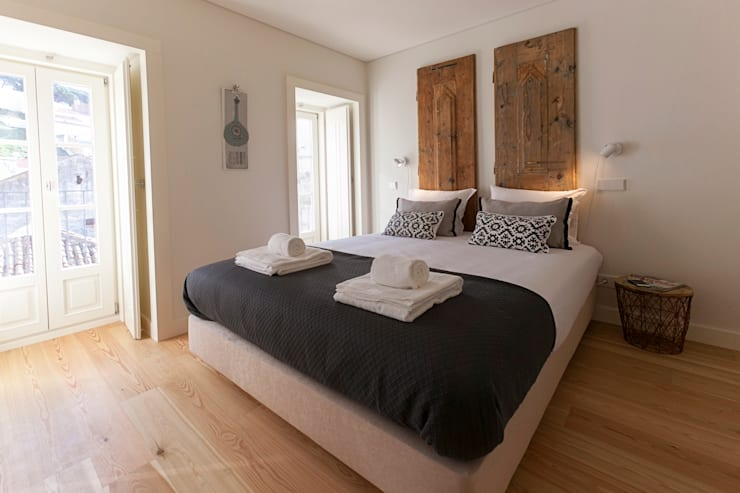 Chambre de style de style Industriel par Home Staging Factory