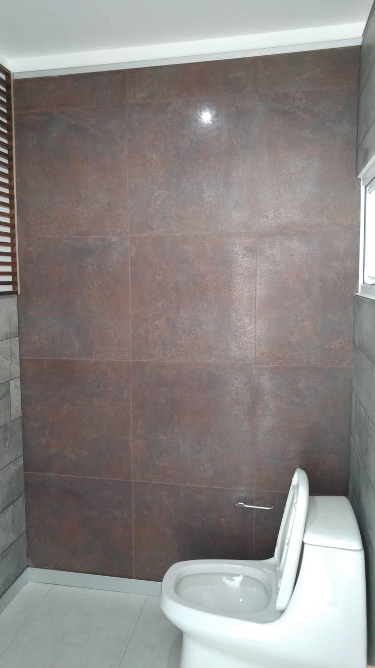 Cuarto de baño: Baños de estilo  por Hogar y Cerámica S.A. de C.V.