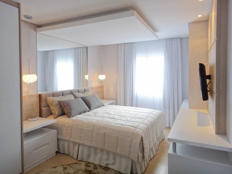 Dormitorios de estilo moderno por Luciana Ribeiro Arquitetura