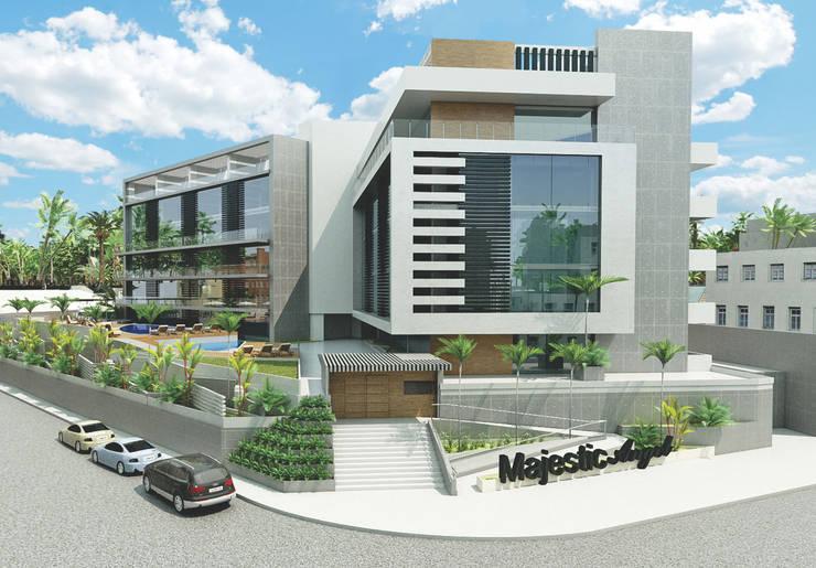 Majestic Angel: Casas de estilo moderno por NOGARQ C.A.