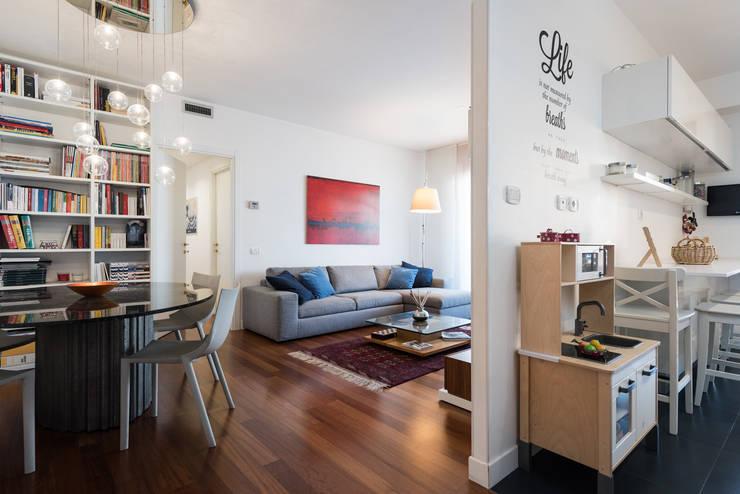 غرفة المعيشة تنفيذ Paolo Fusco Photo