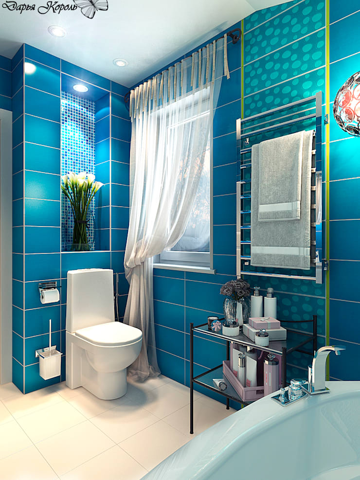 Bathroom by Your royal design, Eclectic Ceramic