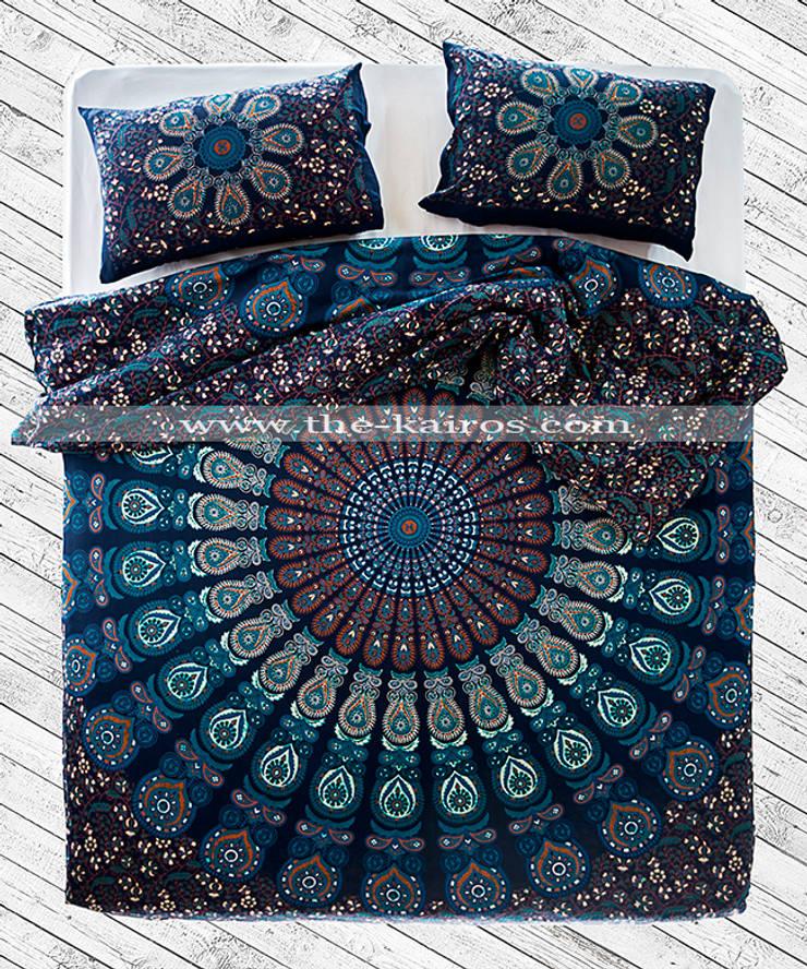 THE KAIROS – Vayu Mandala Duvet Cover:  tarz Yatak Odası