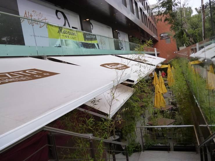 Sistemas de toldo Gaviota retractiles (Motorizado o Manual): Jardín de estilo  por HLA181026V73