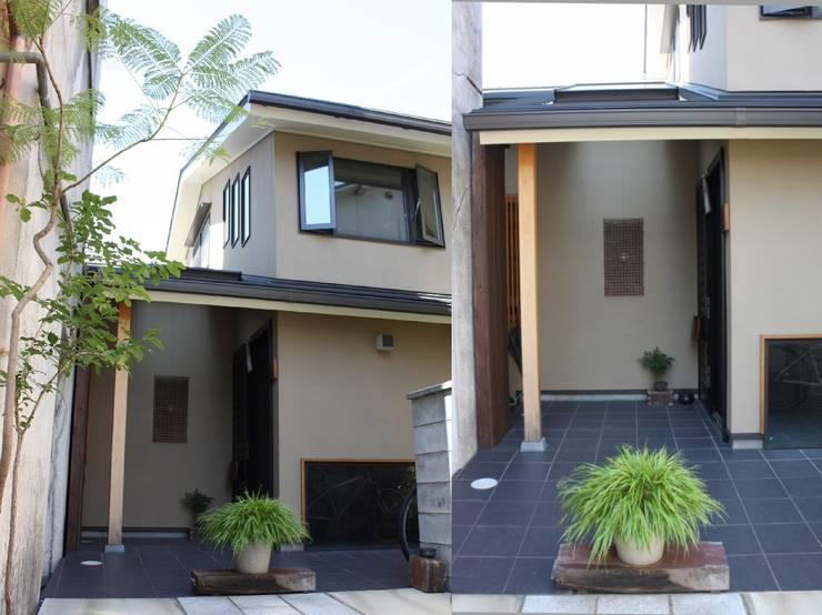 五条坂の家: 竹内村上ATELIERが手掛けた家です。,