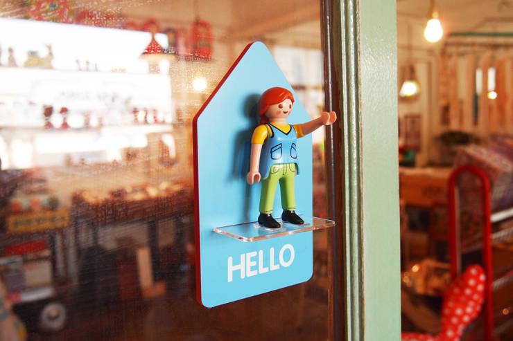 피규어 도어사인 (Figure Door Sign): 상상날개의  사무실