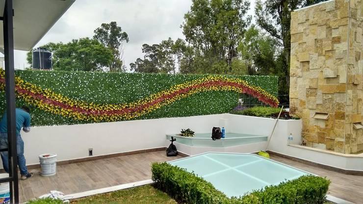 Jardines de estilo  de AQ3 Arquitectos