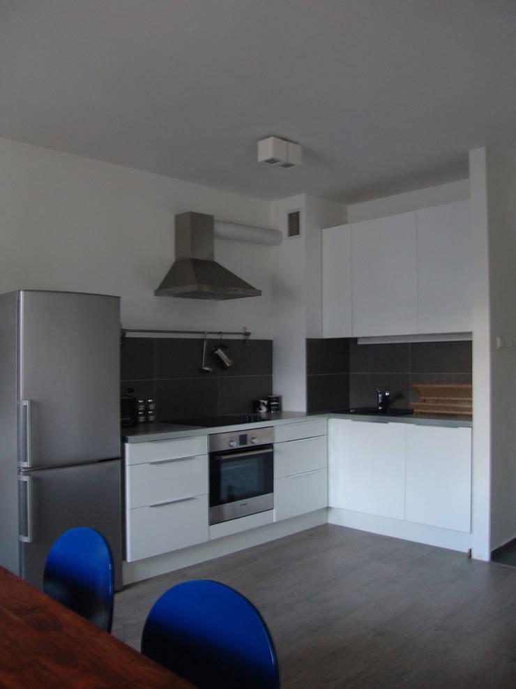 RYBACKA: styl , w kategorii Kuchnia zaprojektowany przez Małgorzata Gilarska Architekt