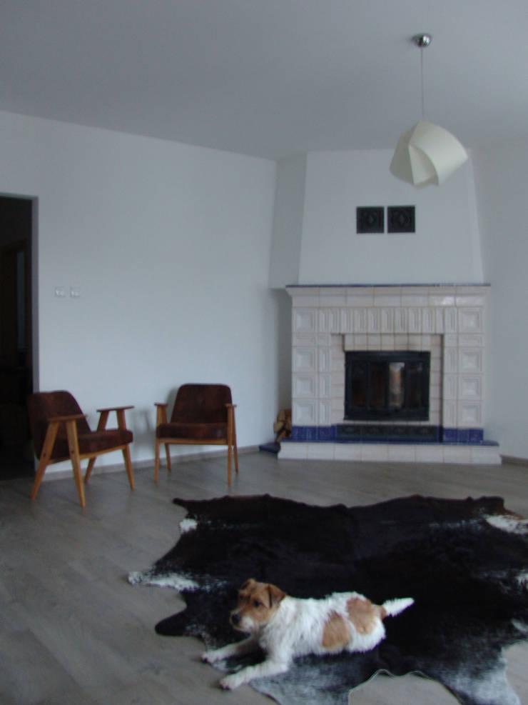 RYBACKA: styl , w kategorii Salon zaprojektowany przez Małgorzata Gilarska Architekt