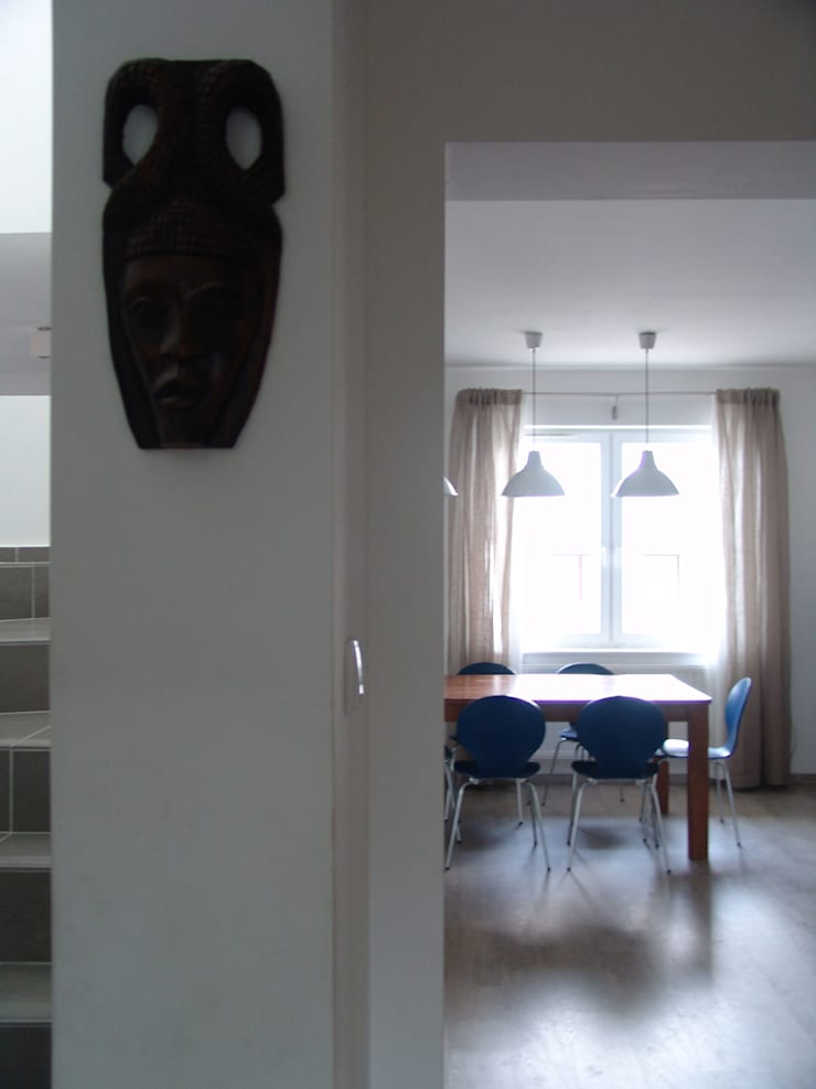 RYBACKA: styl , w kategorii Korytarz, przedpokój zaprojektowany przez Małgorzata Gilarska Architekt