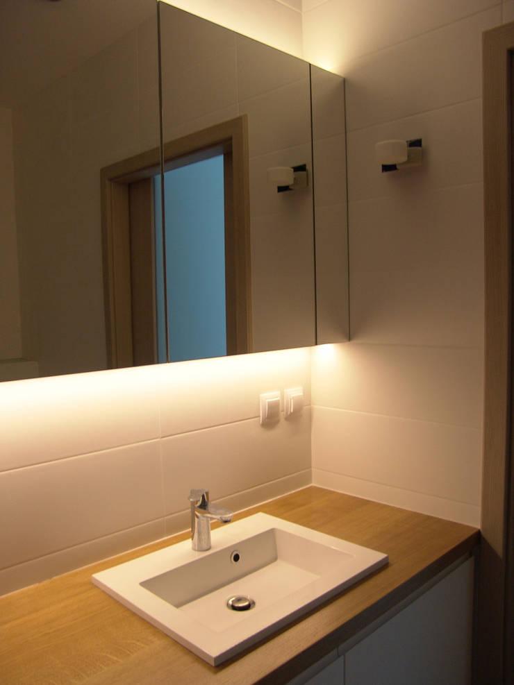 ORDONA: styl , w kategorii Łazienka zaprojektowany przez Małgorzata Gilarska Architekt