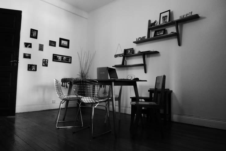 Nuestro estudio: Oficinas y Tiendas de estilo  por laura zilinski arquitecta