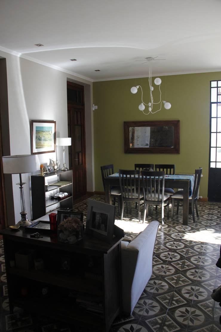 casa ciocastias: Comedores de estilo  por laura zilinski arquitecta