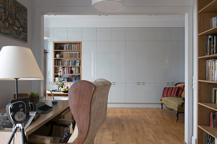 Salon i gabinet: styl , w kategorii Salon zaprojektowany przez Jacek Tryc-wnętrza