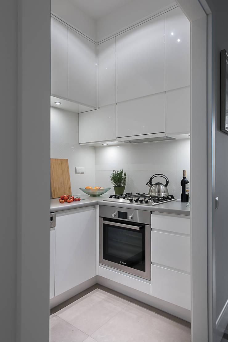 Kuchnia: styl , w kategorii Kuchnia zaprojektowany przez Jacek Tryc-wnętrza