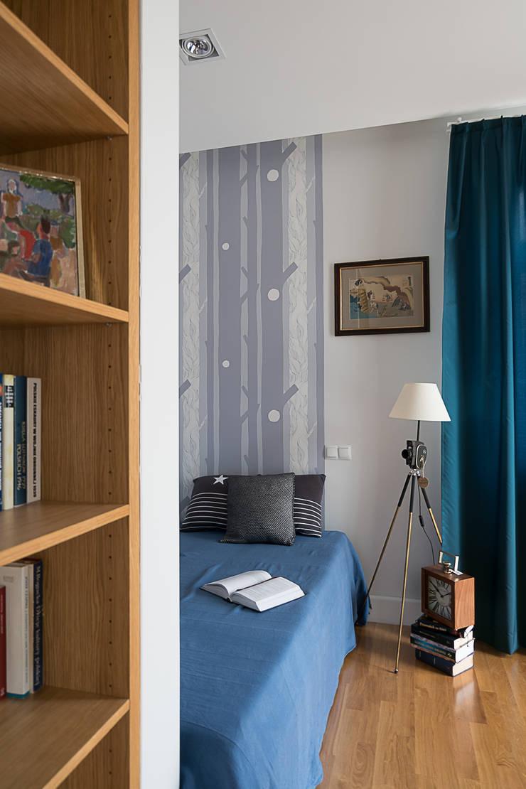 Sypialnia: styl , w kategorii Sypialnia zaprojektowany przez Jacek Tryc-wnętrza