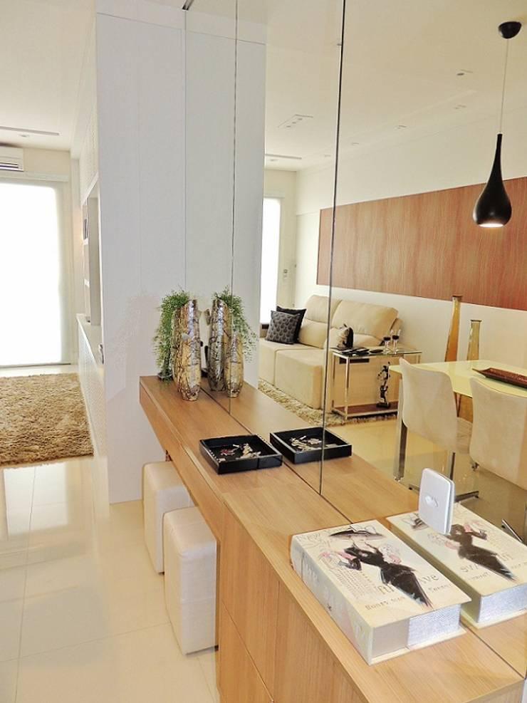 Chácara Inglesa – SP : Salas de estar  por Studio LK Arquitetura e Interiores