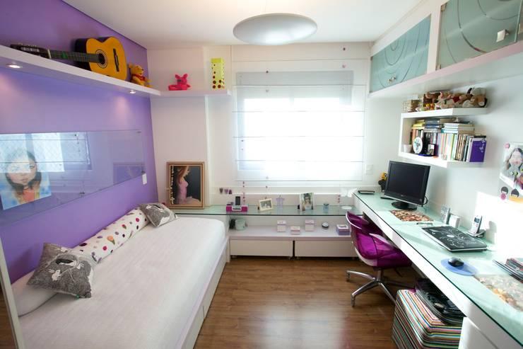 Детские комнаты в . Автор – Patrícia Azoni Arquitetura + Arte & Design