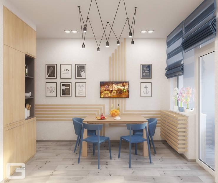 Kitchen by Giovani Design Studio, Scandinavian